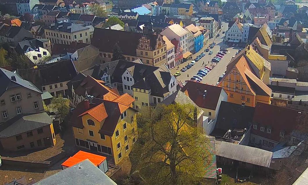 Ein Foto vom Schlosswächter Colditz